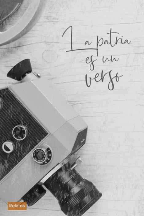 Relato. La patria es un verso. Escritor Madrileño
